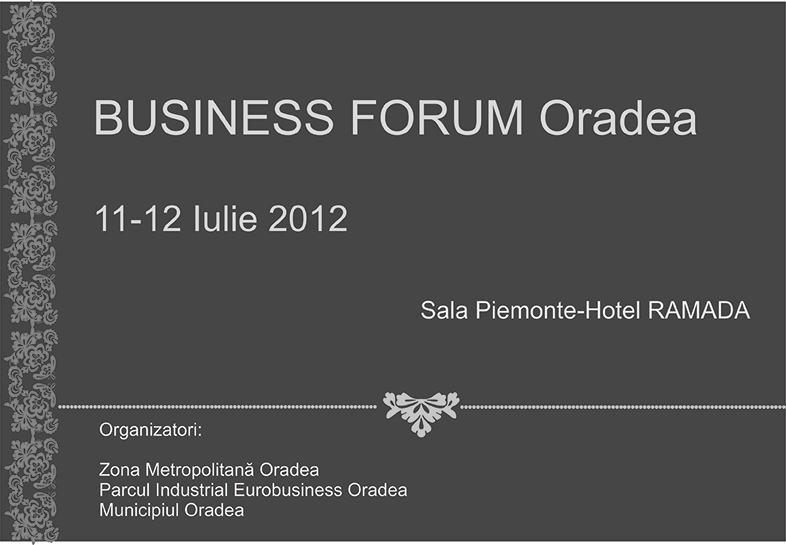Business Forum Oradea